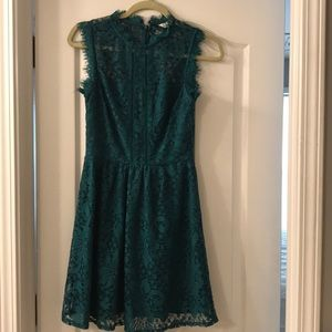 Dresses & Skirts - Lace teal/green dress